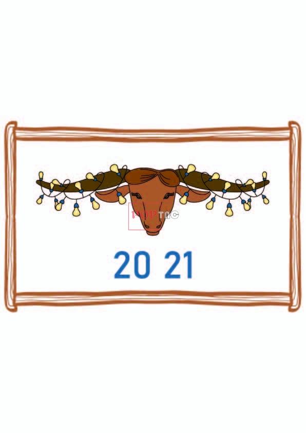 卡通动物牛灯泡印花图案服装裁片T恤卫衣烫图印花花型素材-POP花型网