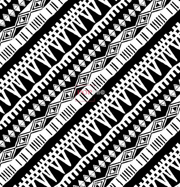 黑白几何图案拼接金昌印花图案服装纺织水印数码印花花型素材-POP花型网