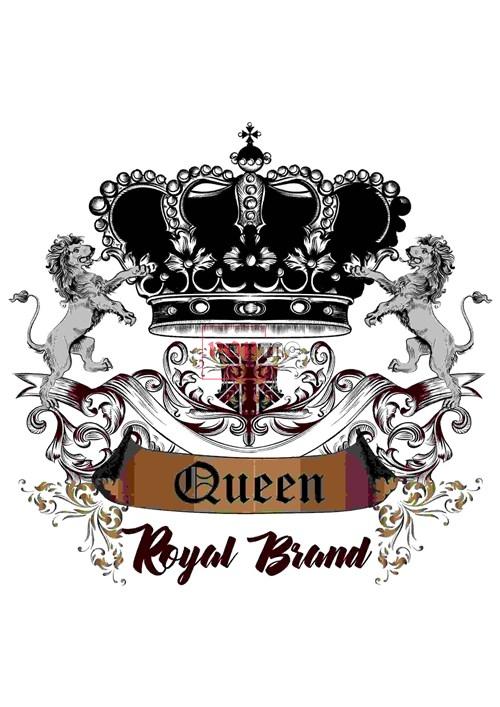 几何图案皇冠狮子字母印花图案服装裁片T恤卫衣烫图印花花型素材-POP花型网