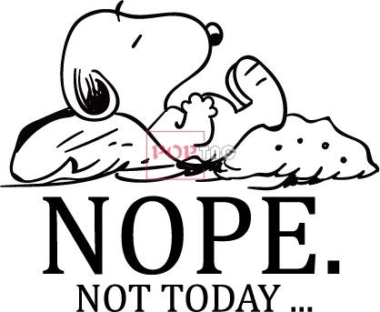 卡通动漫史努比印花图案服装裁片T恤卫衣烫图印花花型素材-POP花型网