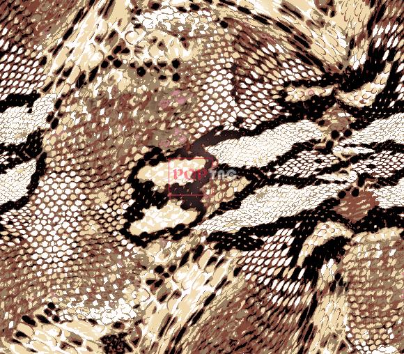 几何图案蟒纹印花服装纺织面料水印数码印花花型素材-POP花型网