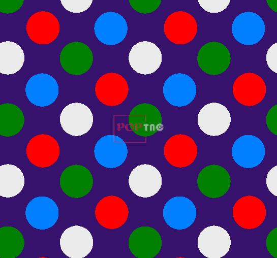 几何多彩圆点拼接印花图案服装纺织面料水印数码印花花型素材-POP花型网