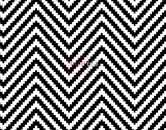 几何波浪条纹印花图案服装纺织面料水印数码印花花型素材-POP花型网