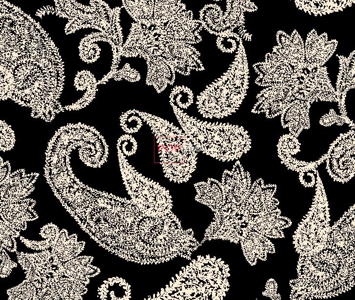 几何腰果印花服装纺织面料水印数码印花金昌花型素材-POP花型网
