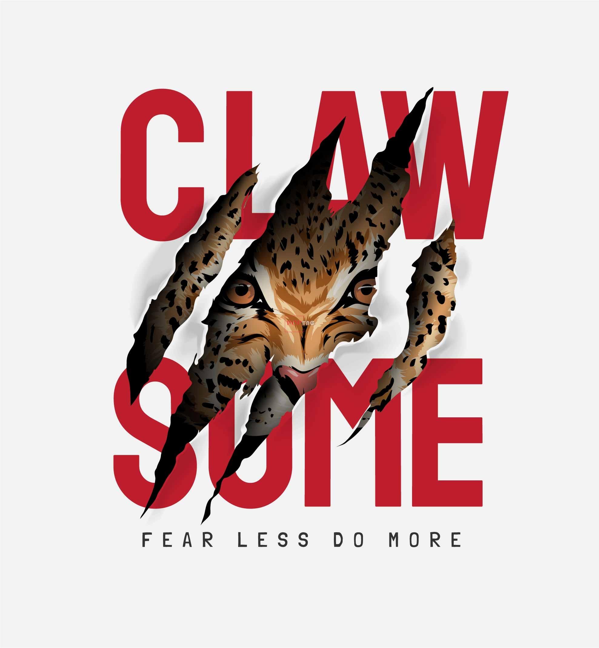 动物豹子字母潮牌印花图案服装裁片T恤卫衣烫图印花花型素材-POP花型网