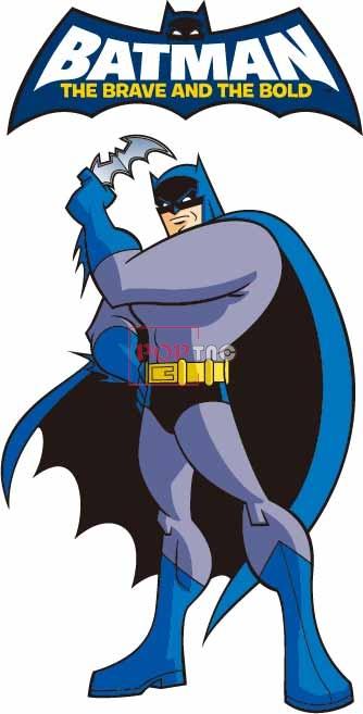 卡通动漫蝙蝠侠字母印花图案服装裁片T恤卫衣烫图印花花型素材-POP花型网