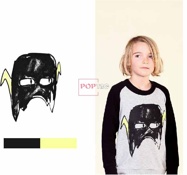 几何面具图案印花服装裁片T恤卫衣烫图印花花型素材-POP花型网