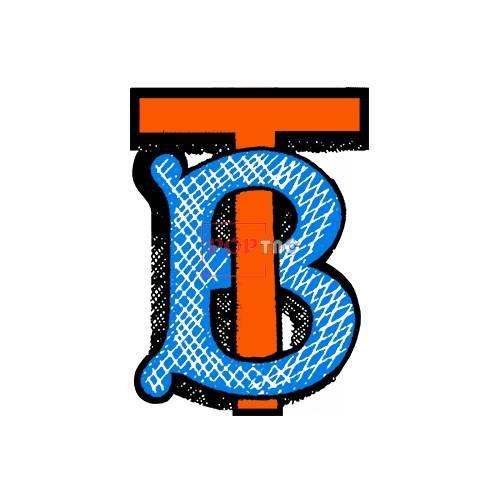 潮牌BURBERRY字母印花图案服装裁片T恤卫衣烫图印花花型素材-POP花型网