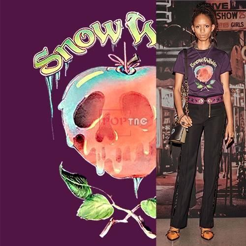 字母骷髅头印花图案服装裁片T恤卫衣烫图印花花型素材-POP花型网