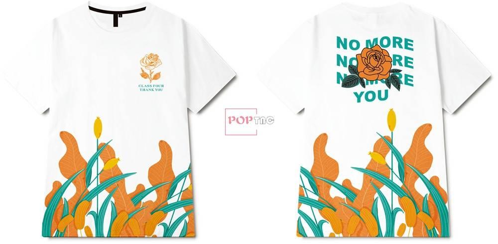 几何植物花卉玫瑰花字母印花图案服装裁片T恤卫衣烫图印花花型素材-POP花型网