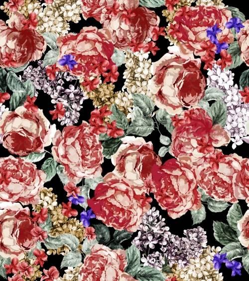 女性花卉印花-POP花型网