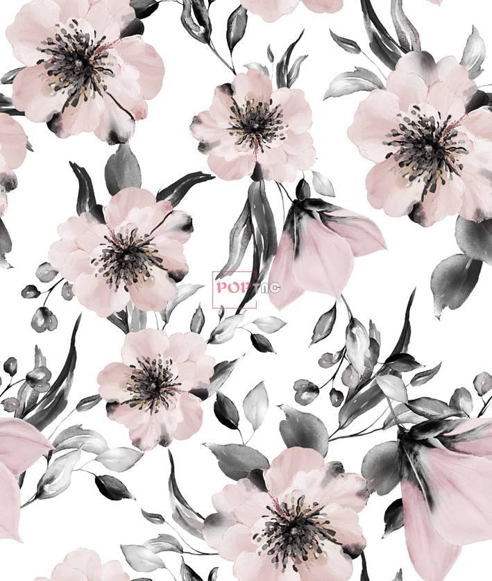女装花型花卉图案直印清新-POP花型网